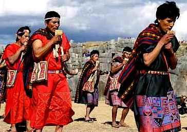 Foto de la Fiesta del Inti Raymi o Fiesta del Sol
