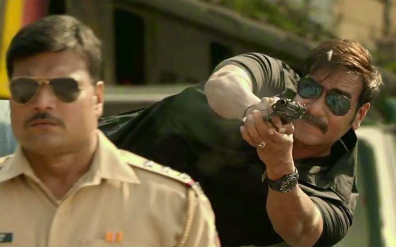 singham returns ajay devgun firing photos