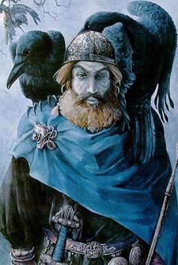 Odin com memoria e conciencia(corvos)