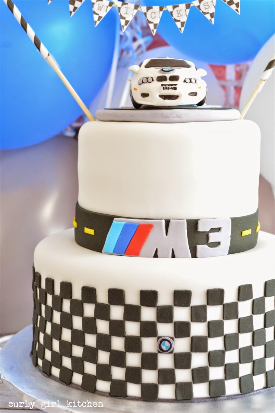 Bmw 40th Birthday Cake