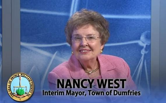 Nancy West, Mayor - Town of Dumfries, VA