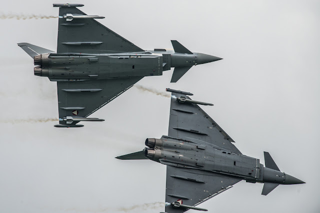 Eurofighter Typhoon angajman dogfight