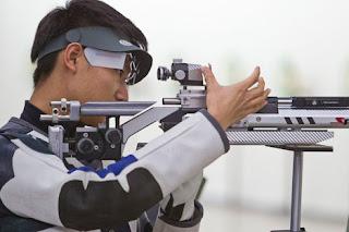 Haoran Yang - China - Carabina de Ar 10m - Copa do Mundo ISSF de Carabina e Pistola 2013