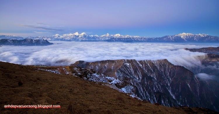 Mùa đông ở dãy núi Himalaya 2