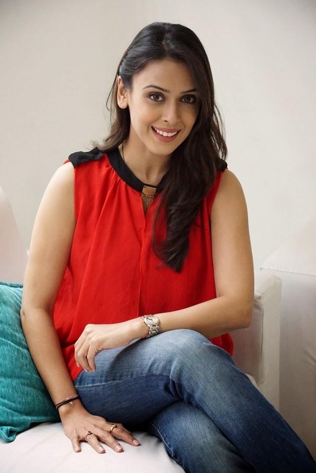 Hrishitaa Bhatt In Red Sexy Top New Stills