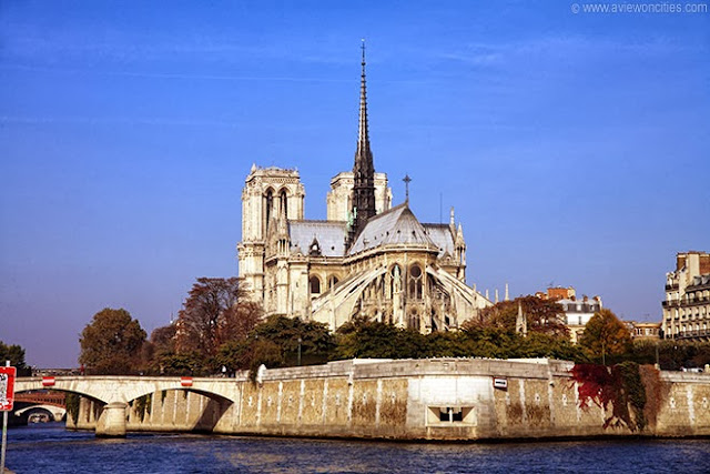 Notre Dame View from behind