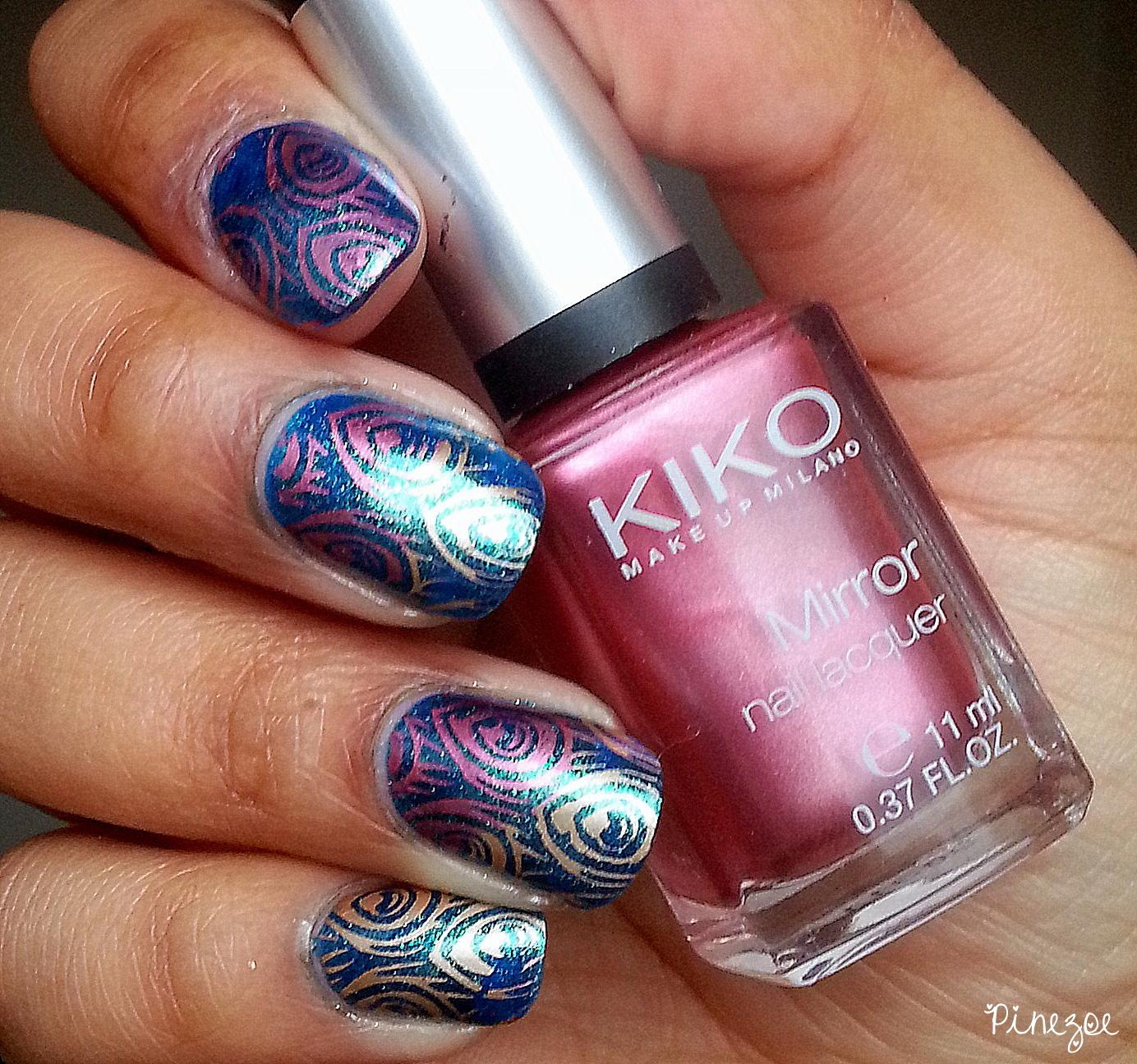Kiko 530 & Stamping Paon BP 30
