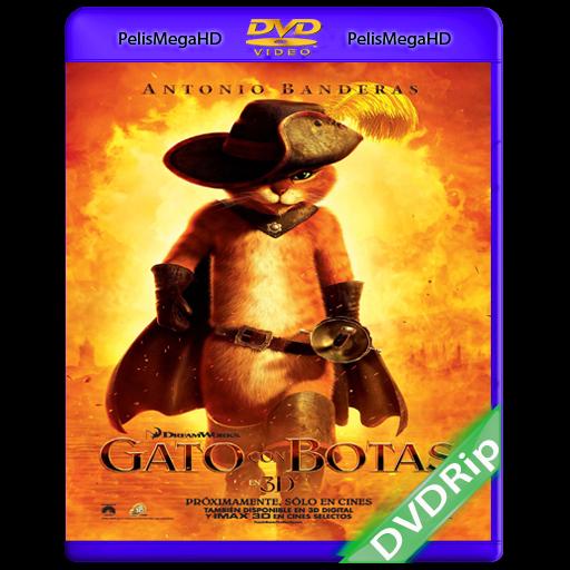 EL GATO CON BOTAS (2011) DVDRIP ESPAÑOL LATINO