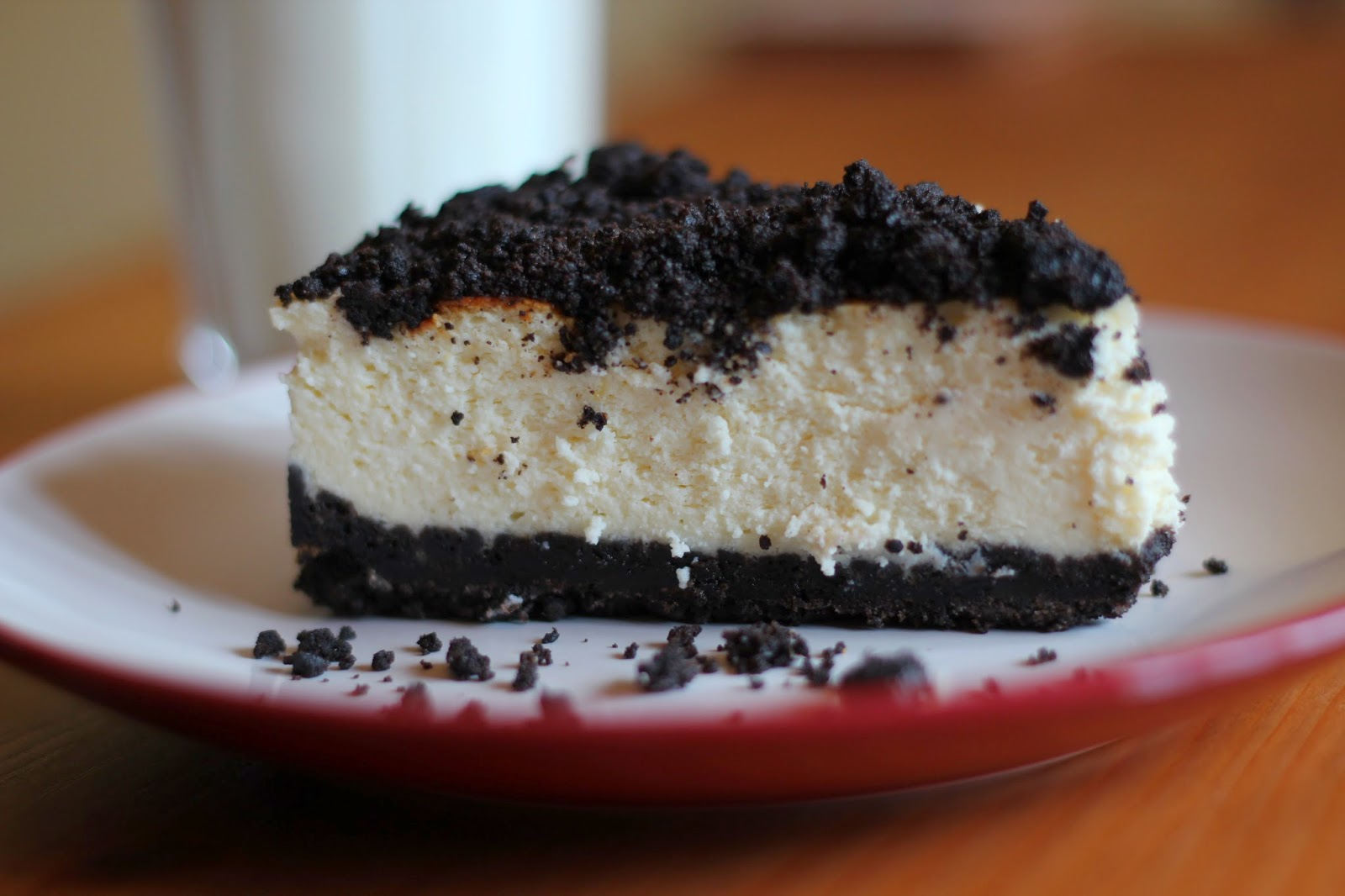 tv and cookies quadruple stuff oreo cheesecake. Black Bedroom Furniture Sets. Home Design Ideas