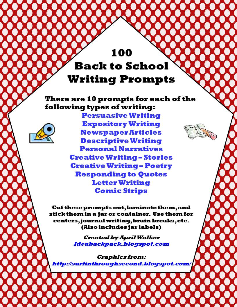 creative writing prompts personal narrative