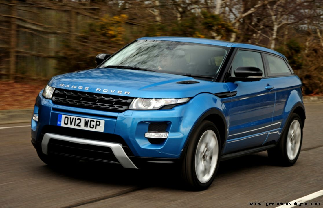 Range Rover Evoque Light Blue   Amazing Wallpapers