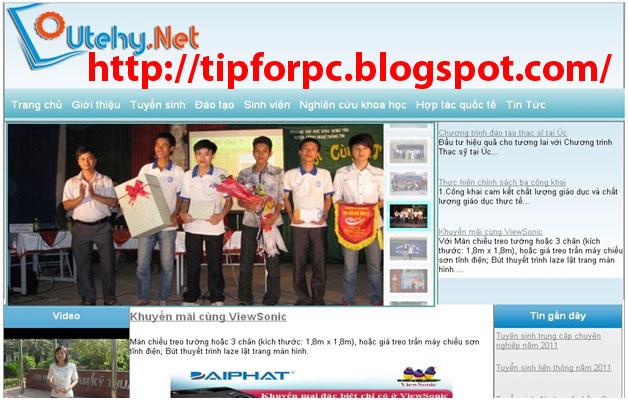 Đồ án tốt nghiệp Mã nguồn code Website tin tức khoa CNTT bằng PHP MVC Joomla + báo cáo
