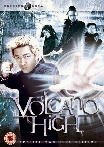 Volcano High 2001 Hindi Dubbed DVDRip 300mb