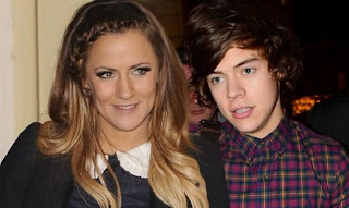 Caroline Flack and Harry Styles