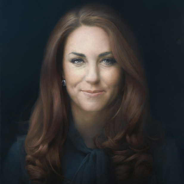 Royal Portrait of Kate Middleton by Paul Emsley