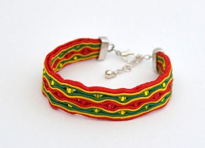 sutasz bransoletka soutache bracelet 13