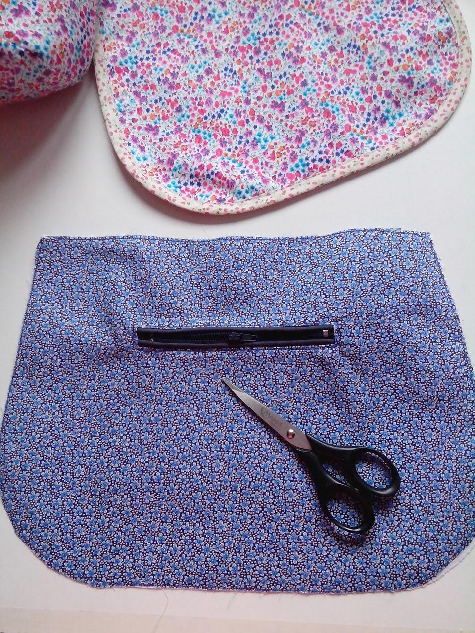 Couture loisir sac besace coudre une poche passepoil e - Coudre une poche plaquee ...