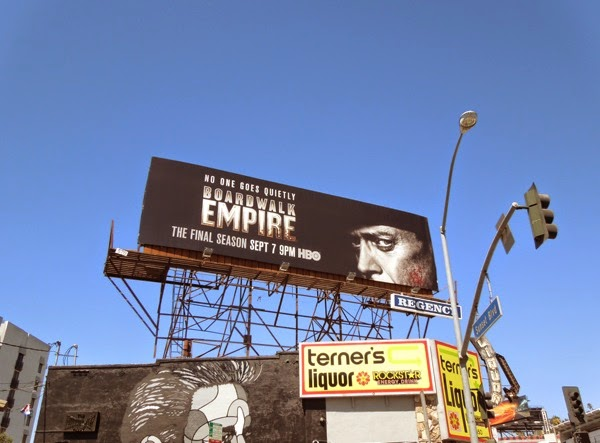 Boardwalk Empire season 5 billboard