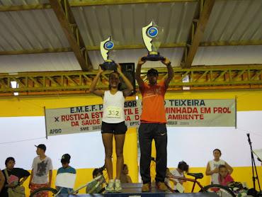 Ganhadores da X Rústica- Troféu Rosa Gai Fagundes