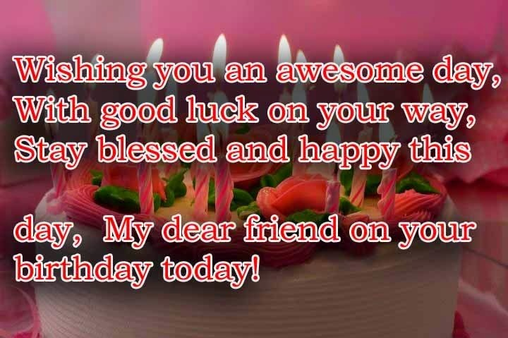 Birthday Wishes Quotes For Friend – Birthday Greetings for a Friend Quotes