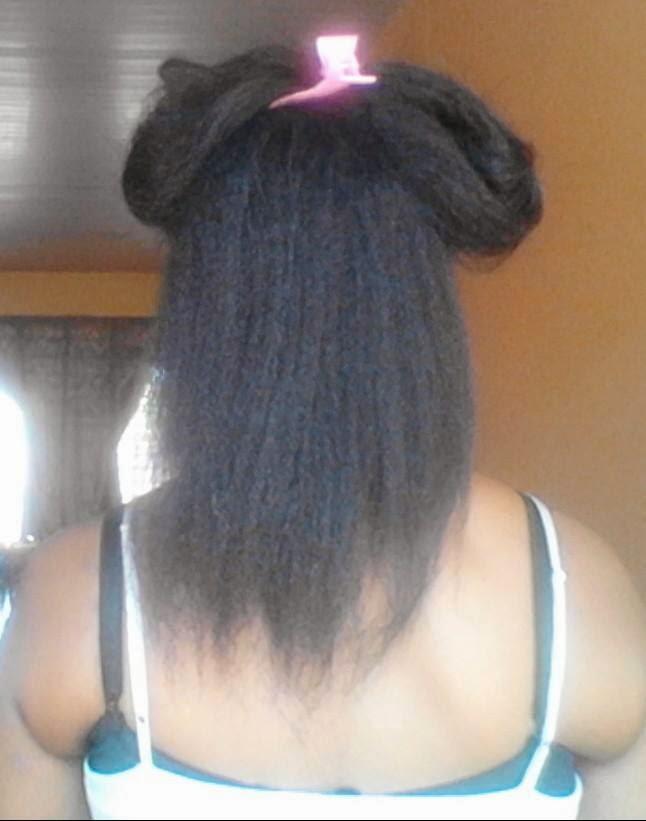 texlaxed hair