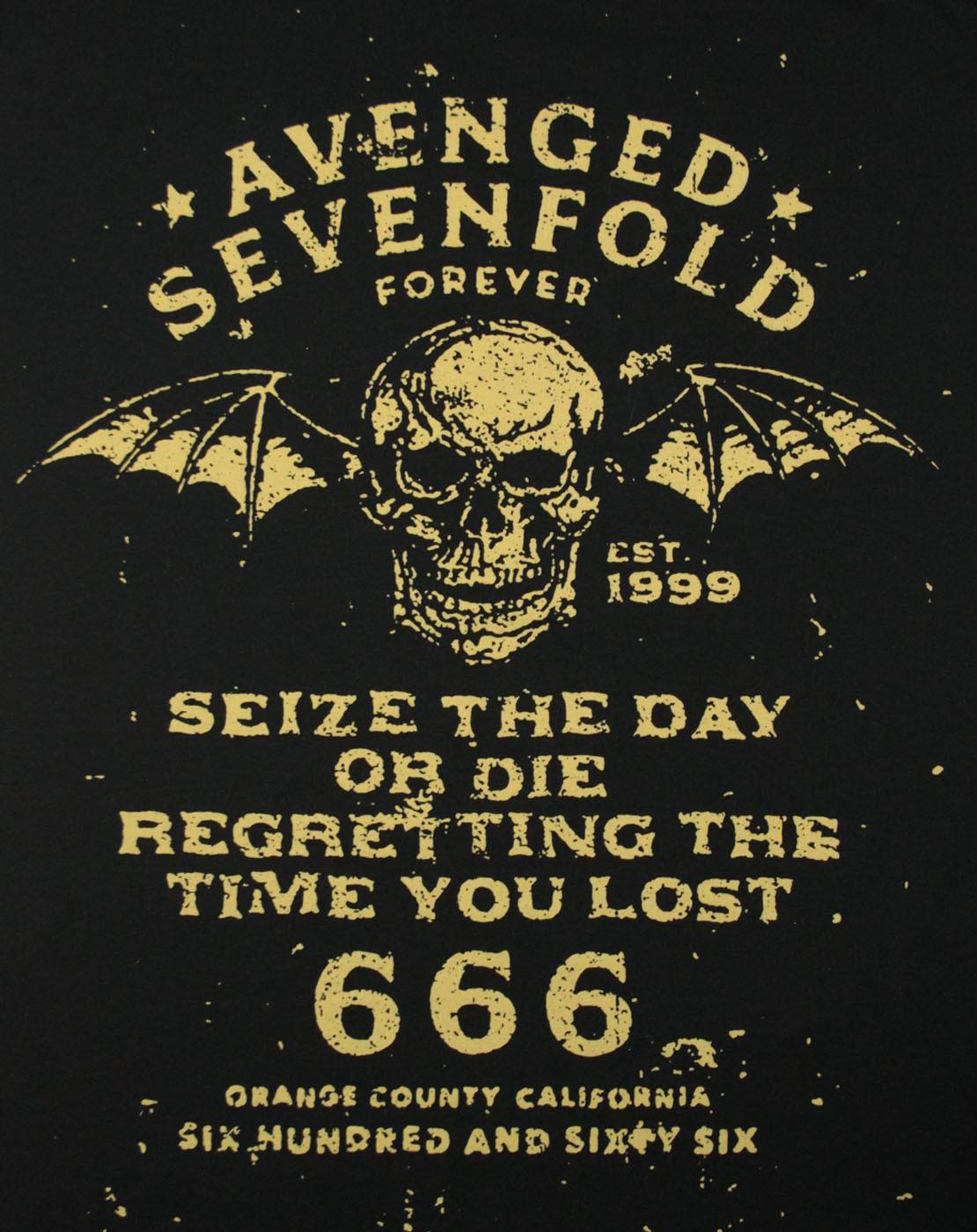 Lirik Lagu dan Chord Gitar Avenged Sevenfold - Seize The Day .:: Nadapedia