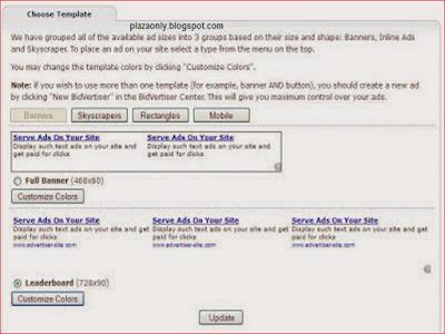 Cara Daftar Bidvertiser dan Panduan Memasang Iklan Bidvertiser