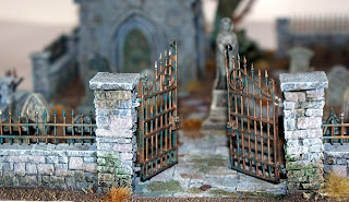 Grave yard for Mantic KOW rule book