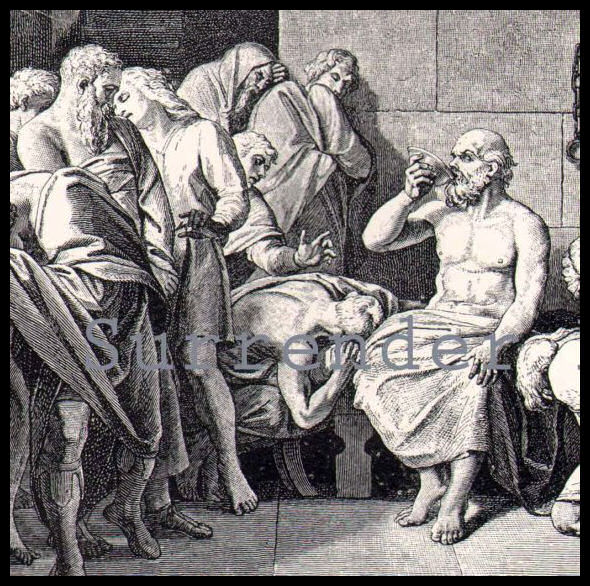 what did socrates mean by 'the Squeezing a foot hard, he asked him if he felt anything socrates said that he did not he did the same to his calves and, going higher,.