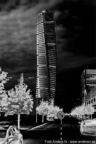 turning torso, malmö, Santiago Calatrava, foto anders n