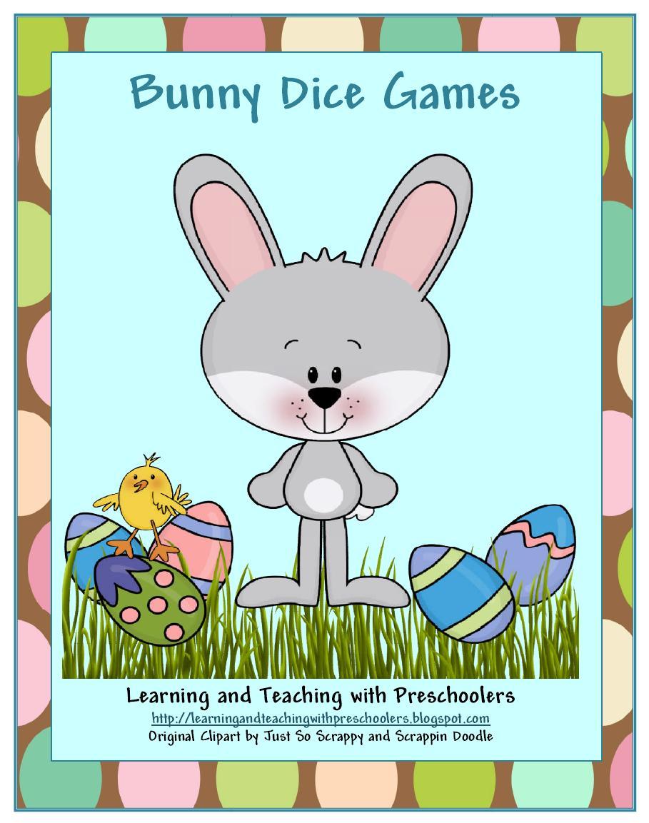 Bunny Dice Game Freebie