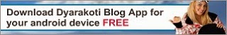 Dyarakoti Blog App