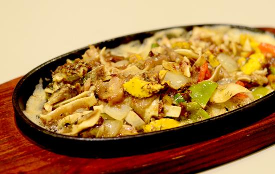 Filipino Comfort Food Davao Sizzling Tenga ng Baboy at Balot