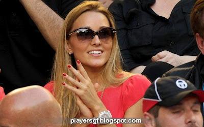 Novak Djokovic's wife Jelena Ristic