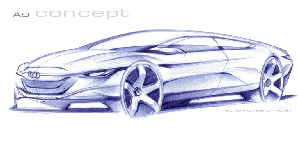 Car Design And My Life Audi A Doodle - Audi car design