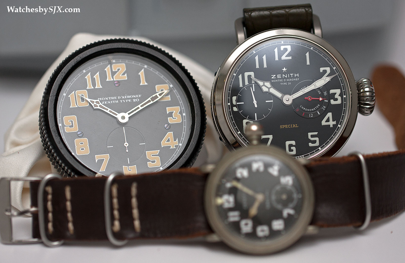 Watches By SJX: Zenith's History In Pilot's Watches ...
