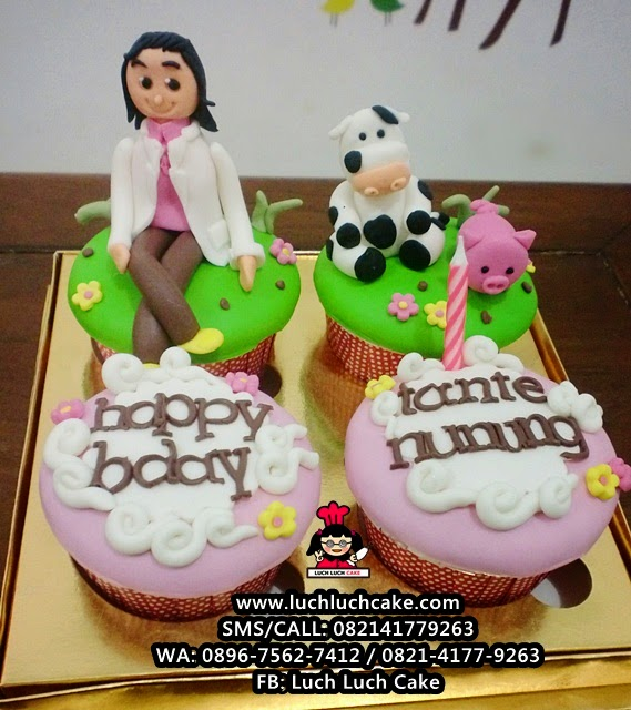 Cupcake Dokter Hewan Daerah Surabaya - Sidoarjo