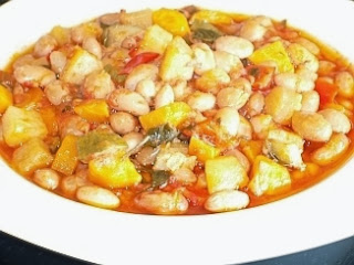Traditional Greek Pinto Beans - Handres - Recipe