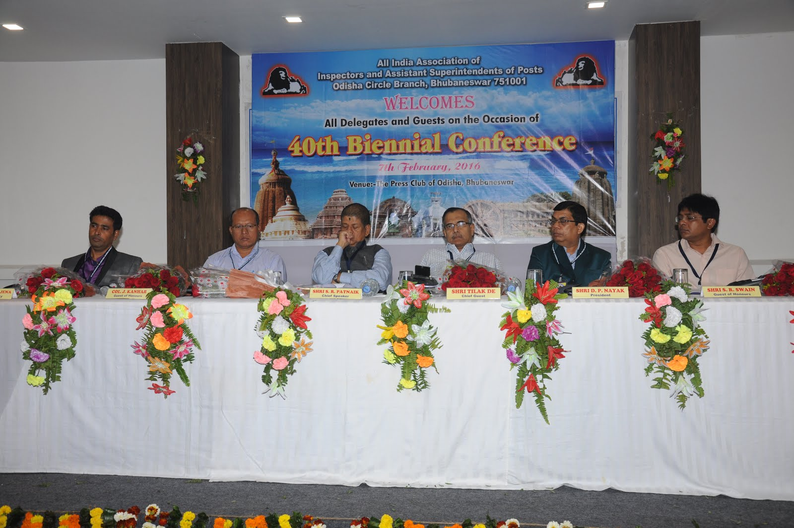 40th Biennial Circle Conference at Bhubaneswar on 7th February, 2016