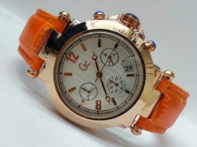 Guess GC Triple Chrono orange