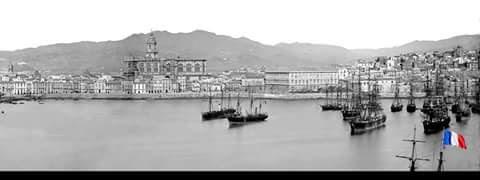 Puerto de Málaga siglo XVIII