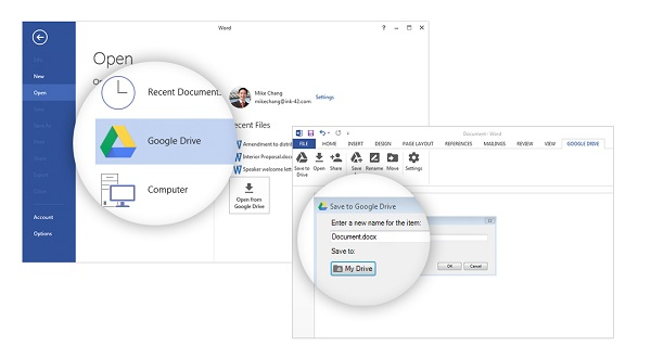 Download Google Drive plug-in for Microsoft Office - Makes it easy to edit Office files stored in Google Drive