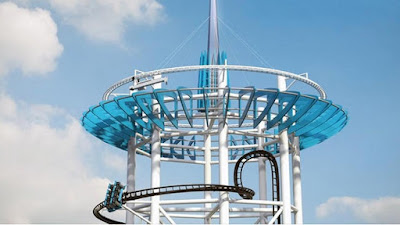 Summit Polercoaster Concept Atlantic City New Jersey Art Roller Coaster