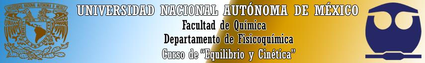 CURSO DE EQUILIBRIO Y CINÉTICA (1308)