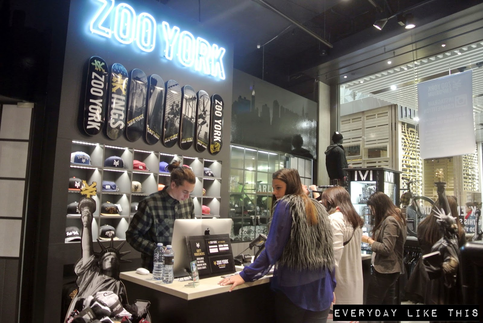 Worlds First Zoo York Store Open at Melbourne's Emporium