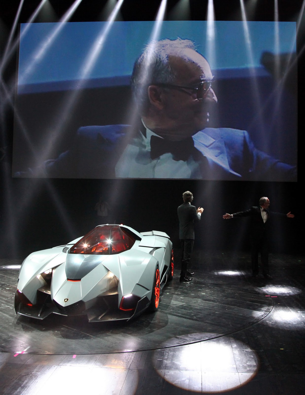 Lamborghini Egoista Single Seat Concept For Their 50th Anniversary