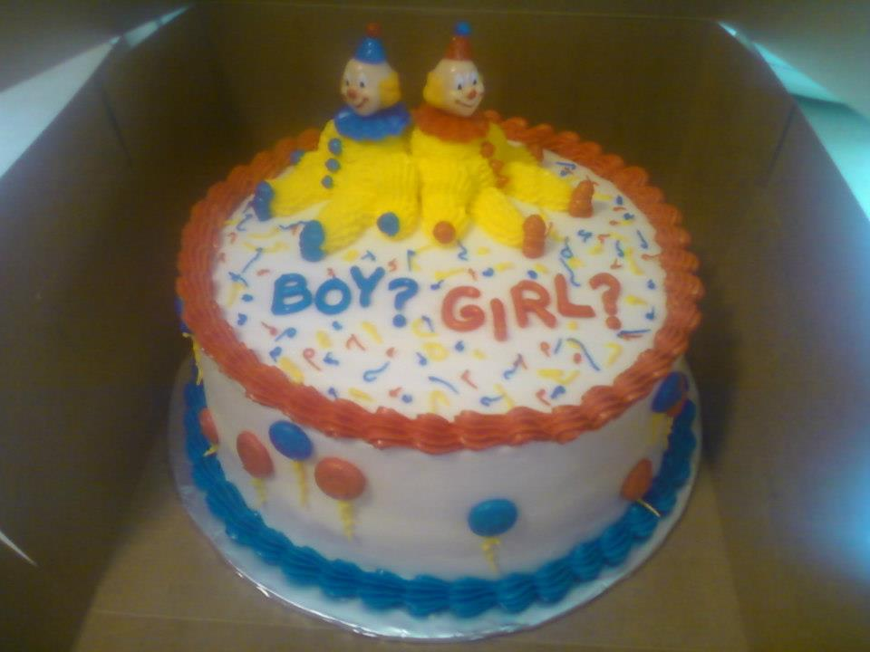 really bad baby shower cake