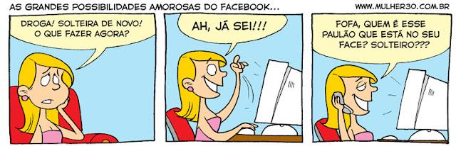 As possibilidades amorosas do Facebook