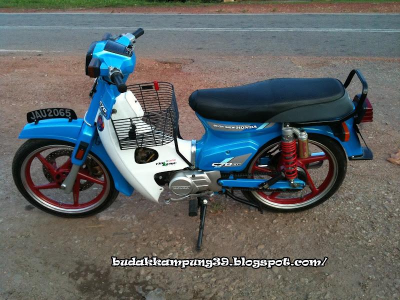 olskool modified: honda petak c70 arul de' baung title=