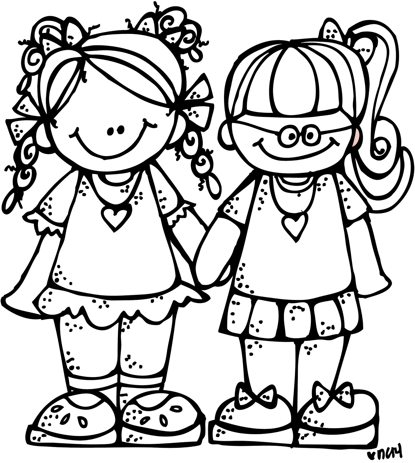 Good Friends Clipart Freebie forever friends